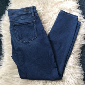 "Paige Jeans Verdugo Ankle high rise 9"" pants 29"